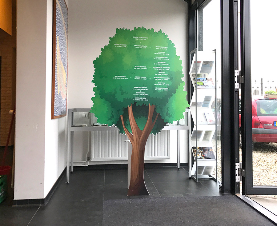 kartonnen display op maat gemaakt