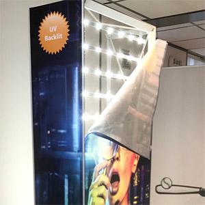 Textielframe met LED verlichting