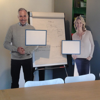 Lifesizers als presentatiesysteem