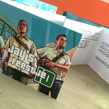 Kaarten drukken in GTA stijl