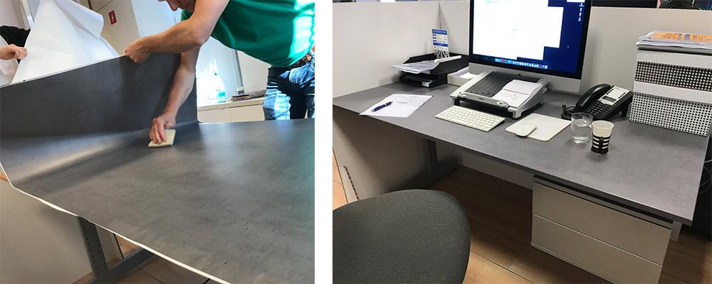 meubels met beton look
