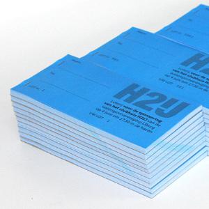 Loten en lotenboekjes drukken