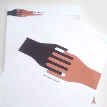 Tweezijdig briefpapier drukken