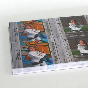 Drieluik kaarten drukken