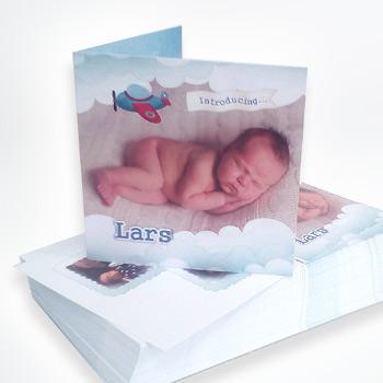 Geboortekaartjes Lars